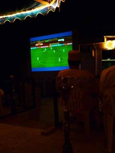 Englands Goal watched in Oman