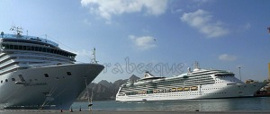 Costa Luminosa with Brilliance of the Seas