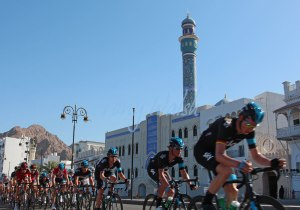 Bradley Wiggins in Oman