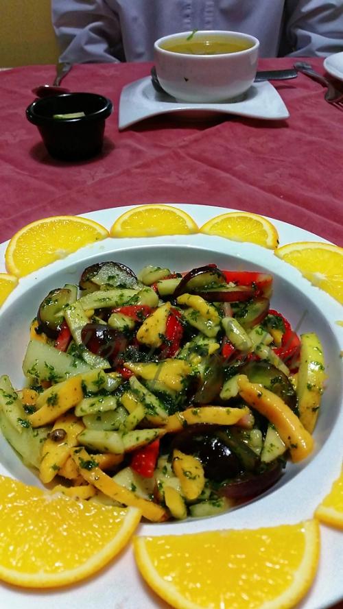 Honey Mint Fruit Salad